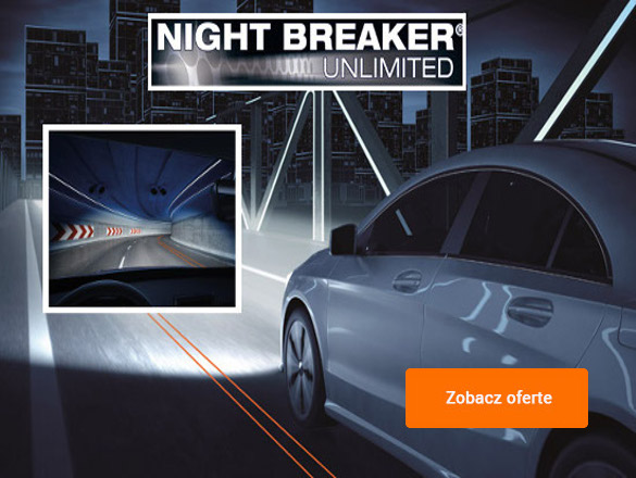 Osram Night Breaker Unlimited +110% - nowy model żarówek Osram